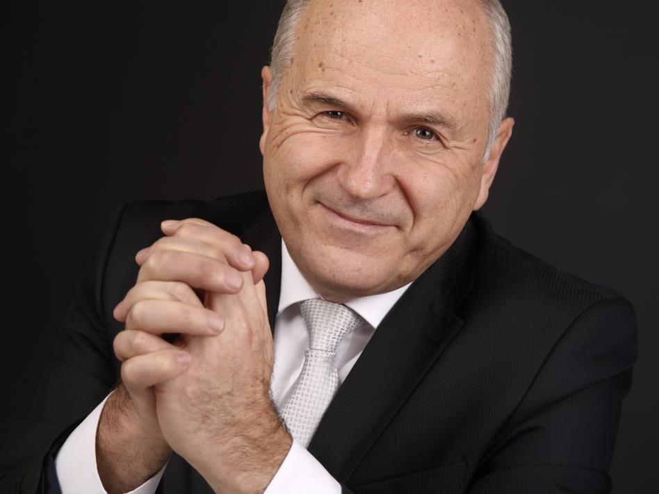 Slika: predsednik NSKS, Valentin Inzko (slika: Sissi Furgler)