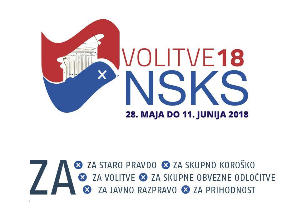 Slika: Razpis volitev NSKS