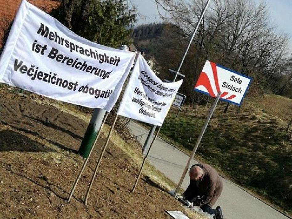 Slika: Solidarni s Kukovico in Lipušem