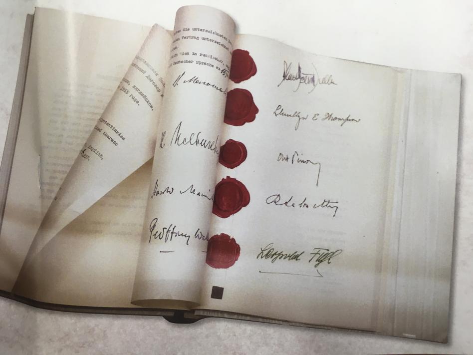 Slika: 63 let od podpisa Državne pogodbe