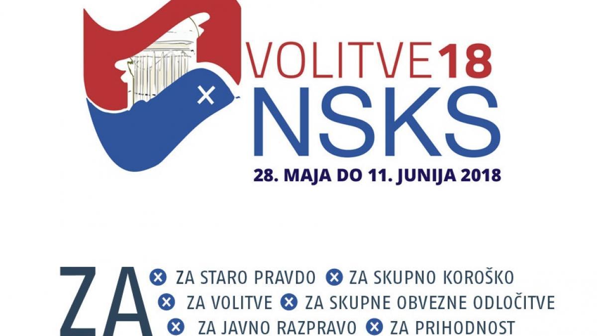 Slika: Kako lahko sodelujete na volitvah NSKS 2018?