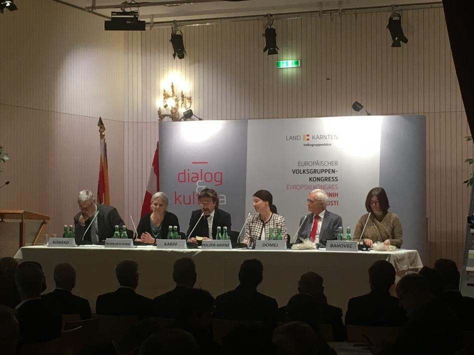 Bild: XXIX. Europäischer Volksgruppenkongress