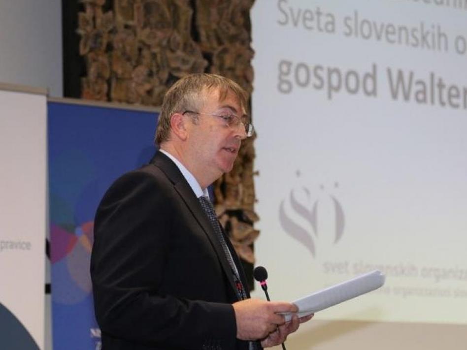 Slika: Walter Bandelj ponovno izvoljen za deželnega predsednika Sveta slovenskih organizacij