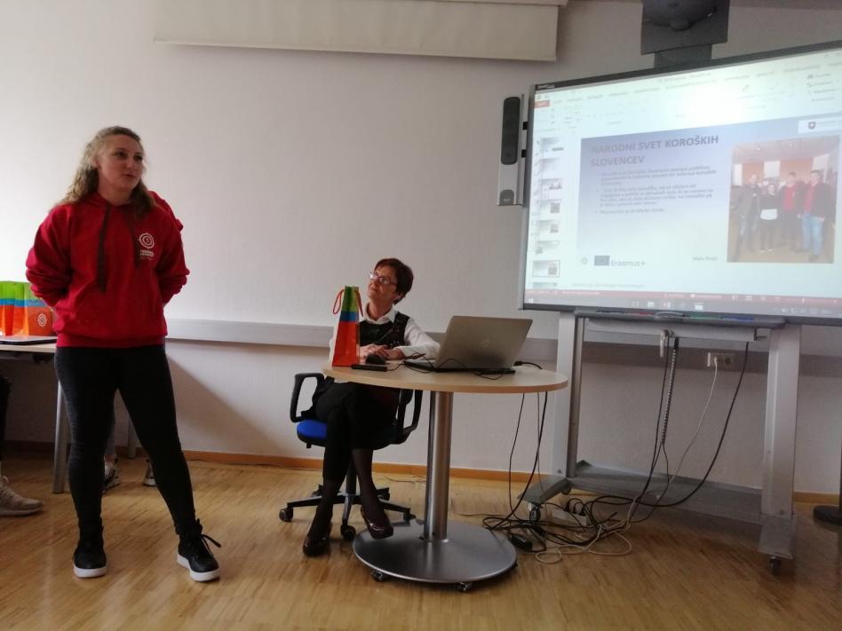 Slika: Zaključna prireditev projekta Erasmus +