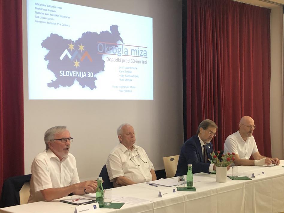 Slika: Slovenska osamosvojitev